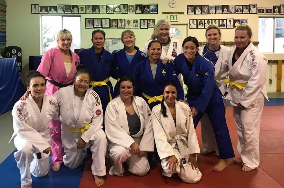 women's judo