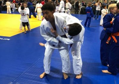 Anthony Medina Practicing Ogoshi